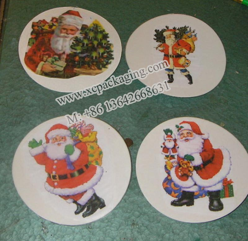 Christmas Coasters for Promotion